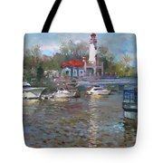 Spring In Lake Shore Tote Bag
