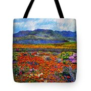 Spring In Namaqualand Tote Bag