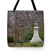 Spring In Oak Hill Cemetery #3 Tote Bag