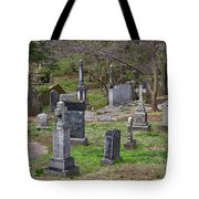 Spring In Oak Hill Cemetery #4 Tote Bag