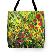 Spring In The Air Tote Bag