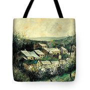 Spring In The Ardennes Belgium Tote Bag