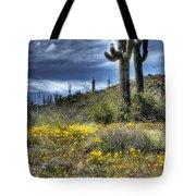 Spring In The Desert  Tote Bag