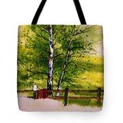 Spring In The Paddock Tote Bag