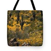 Spring In The Sonoran Desert  Tote Bag