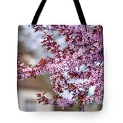 Spring In Town Tote Bag