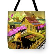 Spring In Townville Tote Bag