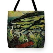 Spring In Vresse Ardennes Belgium Tote Bag