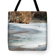 Spring Is Coming. The Ice Melts. Tote Bag