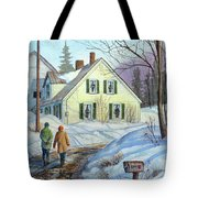 Spring Is Just Around The Corner Tote Bag