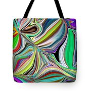 Spring Kaleidoscope Tote Bag