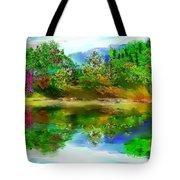 Spring Lake Tote Bag