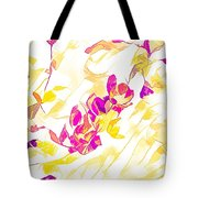 Spring Light Abstract Tote Bag