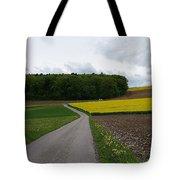 Spring Lines Tote Bag