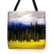 Spring Meadow Mount Brokeoff Tote Bag