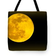 Spring Moon Rising Tote Bag