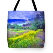Spring Morning Along The Channel Parkway Tote Bag
