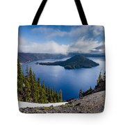Spring Morning At Discovery Point Tote Bag
