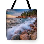 Spring Morning In Acadia National Park Tote Bag