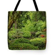 Spring Morning In The Garden Tote Bag