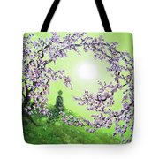 Spring Morning Meditation Tote Bag