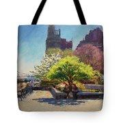 Spring Morning On John Finley Walk Tote Bag