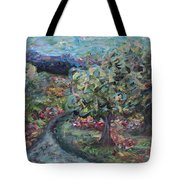 Spring Mountain Flowers Tote Bag