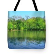 Spring On Barbadoes Island Tote Bag