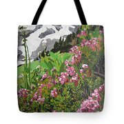 Spring On Mount Rainier Tote Bag