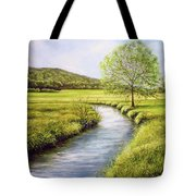 Spring On The Canal Tote Bag