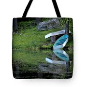 Spring On The Lake Tote Bag