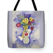 Spring Peek-a-boo I Love You Tote Bag