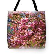 Spring Pink Blossoms Tote Bag
