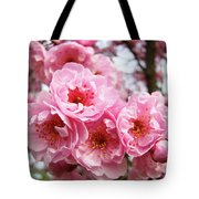 Spring Pink Tree Blossoms Art Prints Baslee Troutman Tote Bag