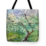 Spring Plum Tote Bag