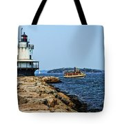 Spring Point Ladge Lighthouse - Maine Tote Bag