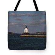 Spring Point Ledge Lighthouse Tote Bag
