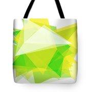 Spring Polygon Pattern Tote Bag