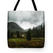 Spring Rain In The Wasatch Tote Bag