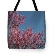 Spring Redbud Tree Tote Bag