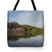Spring Redbud Trees Tote Bag