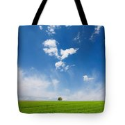Spring Scape Tote Bag