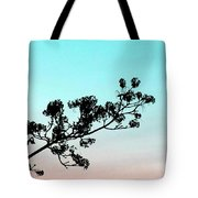 Spring Silhouette Tote Bag