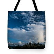 Spring Skies Of The Rogue Valley Tote Bag