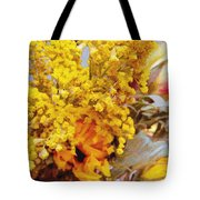 Spring Sky Bouquet Tote Bag