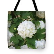 Spring Snowball Tote Bag