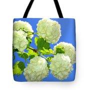 Spring Snowballs Tote Bag