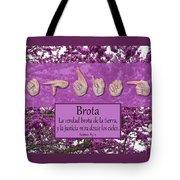 Spring Spanish Tote Bag