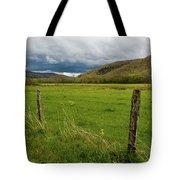 Spring Storm Clouds Tote Bag