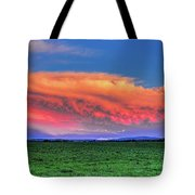 Spring Storm Over Wausau Tote Bag